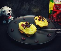 蔓越莓奶酪焗番薯的做法