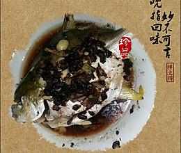 豆豉蒸黄立仓魚的做法