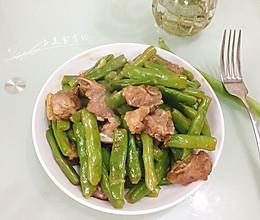四季豆炒排骨的做法