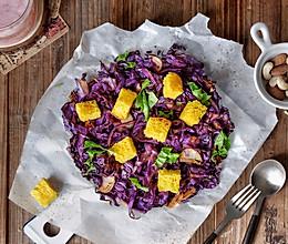 辣烤紫甘蓝的做法