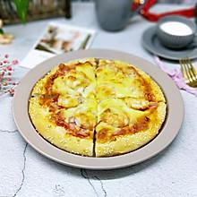 #馅儿料美食,哪种最好吃#虾仁培根披萨
