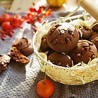 巧克力曲奇饼干#快手又营养,我家的冬日必备菜品#的做法图解12