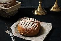 亚麻籽红糖黑麦软欧包的做法