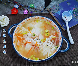 补水保湿的文思豆腐花的做法