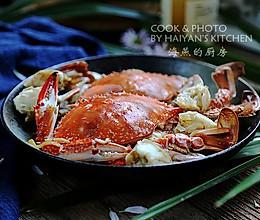 #秋天怎么吃#秋凉,螃蟹最清新的打开方式的做法