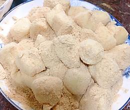 #我们约饭吧#超简单快手版黄豆粉糯米小糍粑丸子的做法