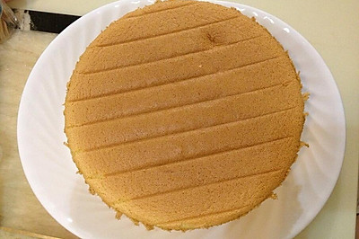 戚风蛋糕8寸