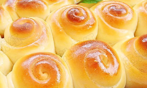 蜂蜜小面包的做法