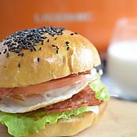 5分钟汉堡#利仁美食穿越#的做法图解6