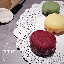 #炎夏消暑就吃「它」#【冰】卡通奶黄冰皮月饼