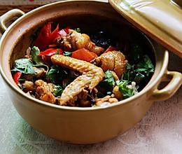 沙姜啫啫鸡煲的做法