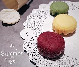 #炎夏消暑就吃「它」#【冰】卡通奶黄冰皮月饼的做法