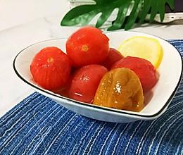 会爆汁的话梅小番茄的做法