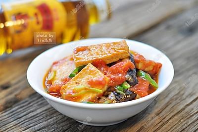 香菇烧豆腐#舌尖上的外婆香#