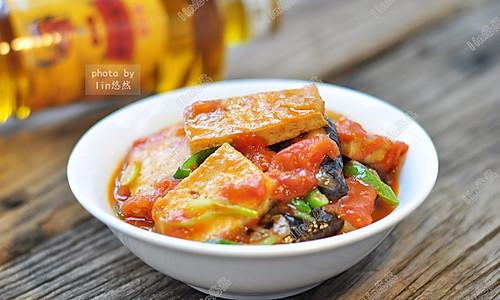 香菇烧豆腐#舌尖上的外婆香#的做法