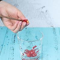 夏日特饮樱桃莫吉托柠檬水的做法图解1