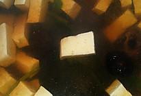 香菇豆腐肉片汤的做法