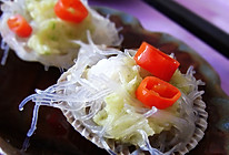 蒜茸粉丝蒸扇贝的做法