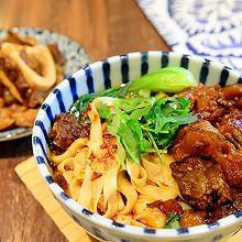 早餐-热辣浓香的红烧牛肉面(附油泼辣椒做法)