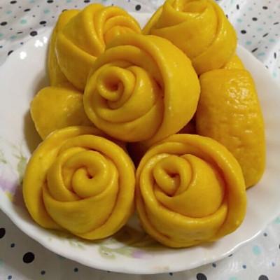 黄玫瑰馒头