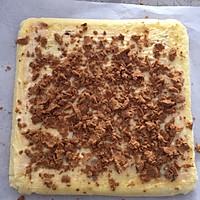 樱花肉松蛋糕卷的做法图解15