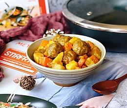 咖喱牛肉丸的做法