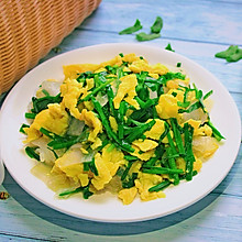 韭菜鸡蛋炒粉条