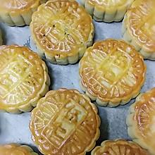 蜂蜜饼皮五仁月饼