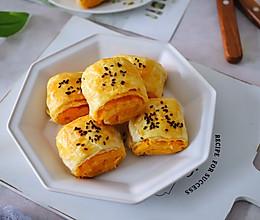 #好吃不上火#奶香红薯酥饼的做法