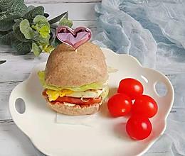 黑麦馒头汉堡(附黑麦馒头制作方法)的做法