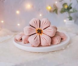 #换着花样吃早餐#樱花酥的做法