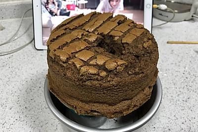 一闻钟情的咖啡戚风蛋糕(6寸)