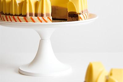 芒果牛奶巧克力慕斯