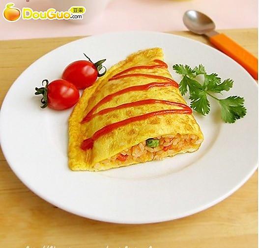 耐人寻味:蛋包饭的做法