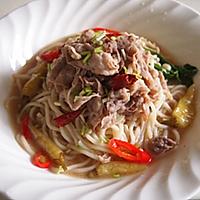 香辣酸汤肥牛米线的做法图解5
