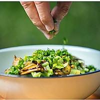 不时不食   牛肝菌拌米线配鸡汤吃走感冒的做法图解7