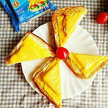 芝士火腿三明治#百吉福食尚达人#