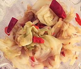 酸包菜-南方口味的做法