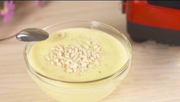 瘦身花生红薯牛奶汤的做法