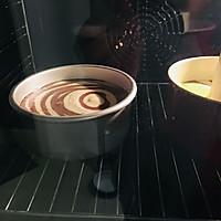 可可波纹戚风蛋糕的做法图解11