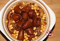 黄豆焖猪尾的做法