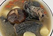 #下饭红烧菜#香菇山药乌鸡汤的做法