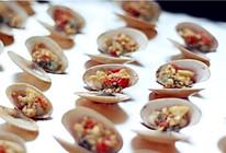这个周末玩烧烤——蒜茸烤花蛤的做法