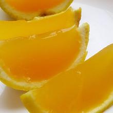 剥着吃的美味--------香橙果冻