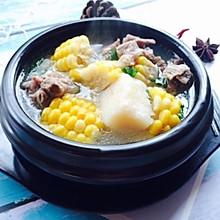 #秋天怎么吃#糯米山药玉米筒骨汤