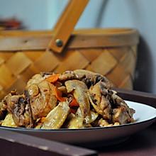 #父亲节,给老爸做道菜#水笋焖鸡