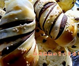 一步一步教你做超级柔软的豆沙卷面包(烫种法)的做法