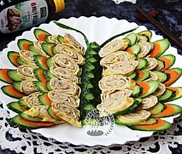 彩蝶飘飘---可以吃的年夜菜