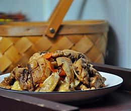 #父亲节,给老爸做道菜#水笋焖鸡的做法