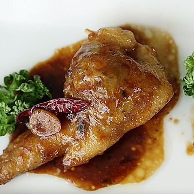 小薇de美食|辣子鸡翅饺子